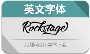 Rockstage-Regular(英文字体)
