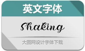Shaking-Regular(英文字体)