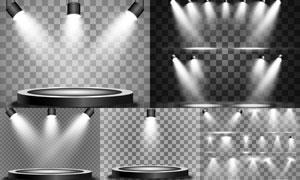 光源光效設計元素主題矢量素材集V36