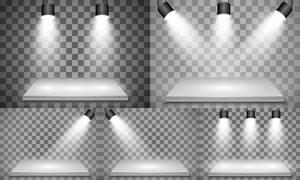 光源光效設計元素主題矢量素材集V37
