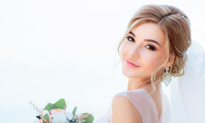 婚纱打扮新娘美女人物摄影高清图片