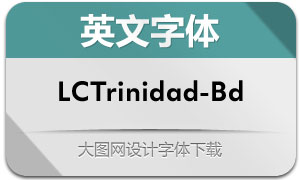 LCTrinidad-Bold(英文字体)