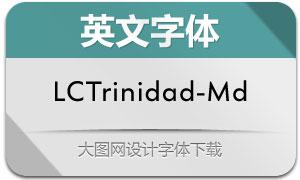 LCTrinidad-Medium(英文字体)