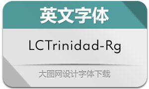 LCTrinidad-Regular(英文字体)