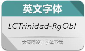 LCTrinidad-RegularObl(英文字体)