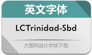 LCTrinidad-SemiBold(英文字体)