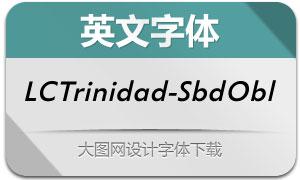LCTrinidad-SemiBoldObl(英文字体)