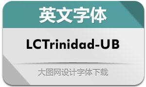 LCTrinidad-UltraBold(英文字体)