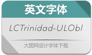 LCTrinidad-UltraLightObl(英文字体)