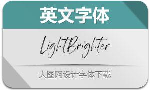 LightBrighter(英文字体)
