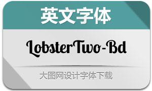 LobsterTwo-Bold(英文字体)