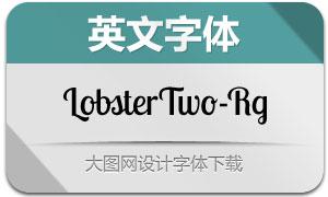 LobsterTwo-Regular(英文字体)