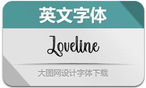 Loveline(英文字体)