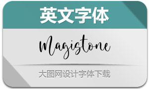 Magistone(英文字体)