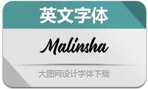 Malinsha-Regular(英文字体)