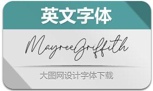 MayreeGriffith(英文字体)