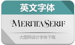 MerittaSerif(英文字体)