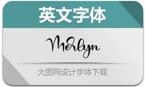 Merlyn(英文字体)