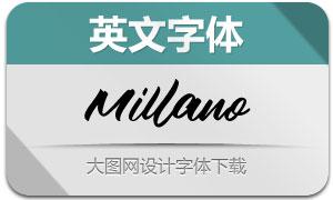 MillanoScript(英文字体)