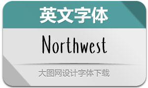 Northwest(英文字体)
