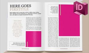 三十多页的多用途杂志页面布局模板