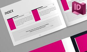相册图文页面布局版式设计模板素材