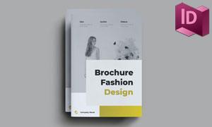 时尚品牌画册页面版式布局模板素材