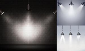 光源光效設計元素主題矢量素材集V38