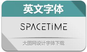 SpaceTime系列四款英文字体