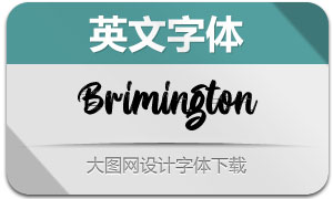 Brimington(英文字体)