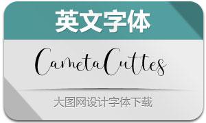 CametaCuttes(英文字体)