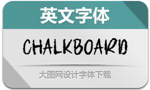 Chalkboard(英文字体)