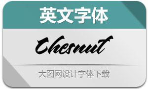 Chesnut(英文字体)