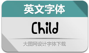 Child(英文字体)