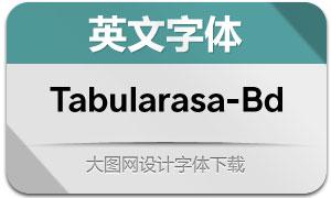 Tabularasa-Bold(英文字体)