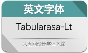 Tabularasa-Light(英文字体)