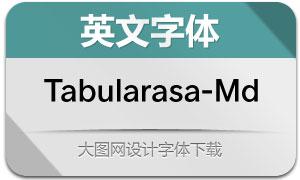 Tabularasa-Medium(英文字体)