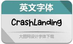 CrashLanding(英文字体)