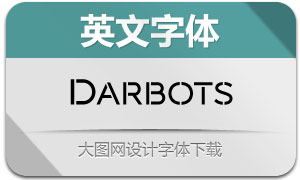 Darbots(英文字体)