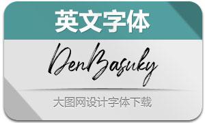 DenBasuky(英文字体)
