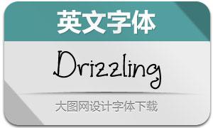 Drizzling(英文字体)