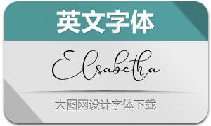 Elsabetha(英文字体)