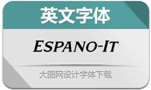 Espano-Italic(英文字体)