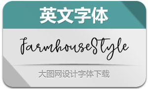FarmhouseStyle(英文字体)