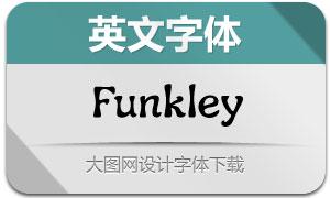 Funkley-Regular(英文字体)