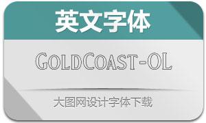 GoldCoast-Outline(英文字体)