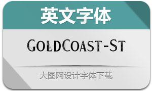 GoldCoast-Stamp(英文字体)