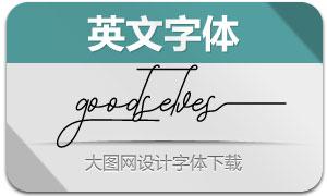 Goodselves(英文字体)