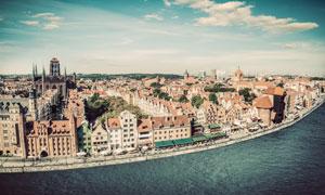 波兰格但斯克建筑风光摄影高清图片