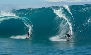 海上极限运动冲浪人物摄影高清图片